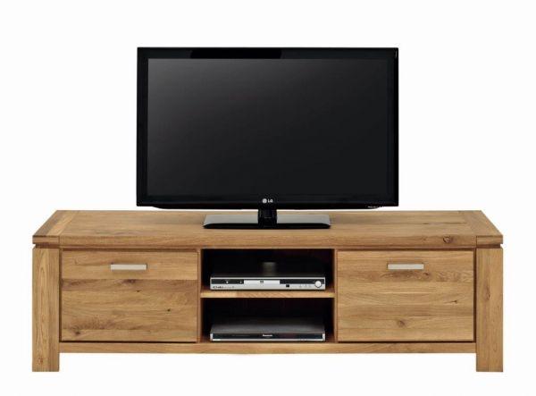 TV Lowboard XL Wildeiche massiv fertig montiert-Copy