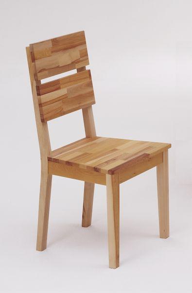 Stuhl Dora-G Kernbuche massiv geölt (2er Set)