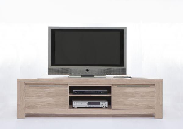 TV Lowboard XL Borkum Wildeiche massiv sonoma